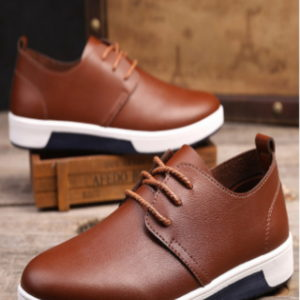 Fashion Leisure Breathable Men's Sneakers – Brown