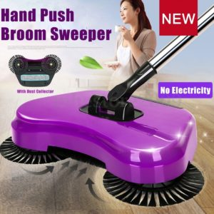Sweep And Drag All-In-One Household Floor Sweeper.